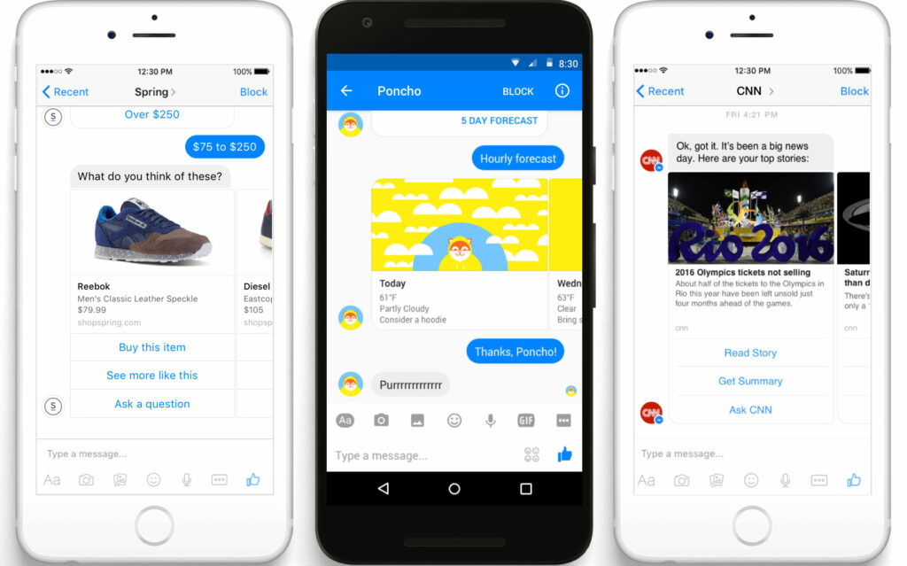 Facebook Messenger機器人自動回應
