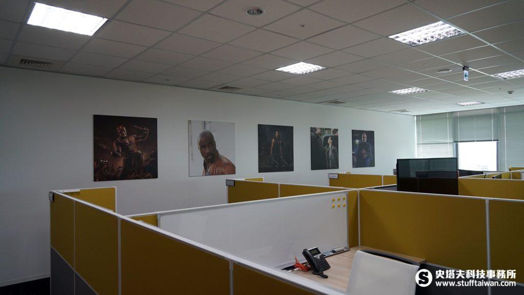 Netflix台灣辦公室室內景