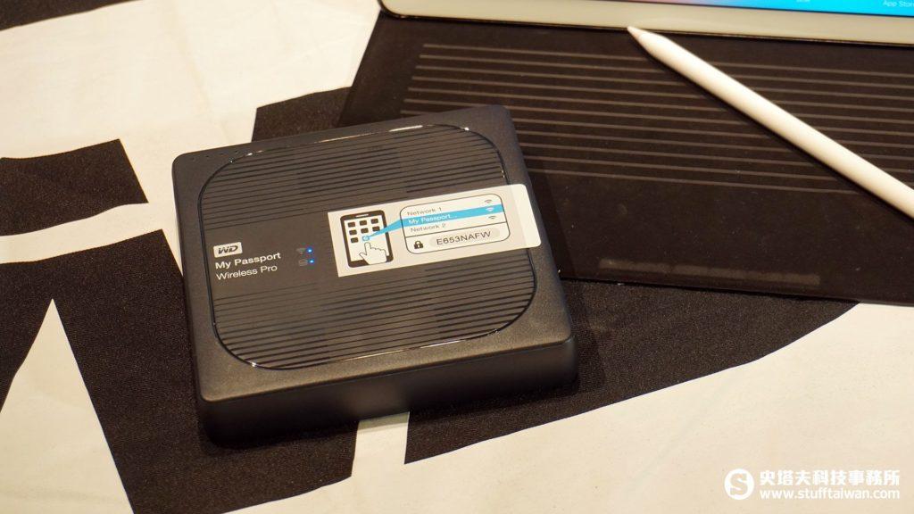 My Passport Wireless Pro無線行動碟