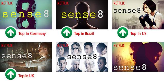 《超感8人組》六張不同劇照
