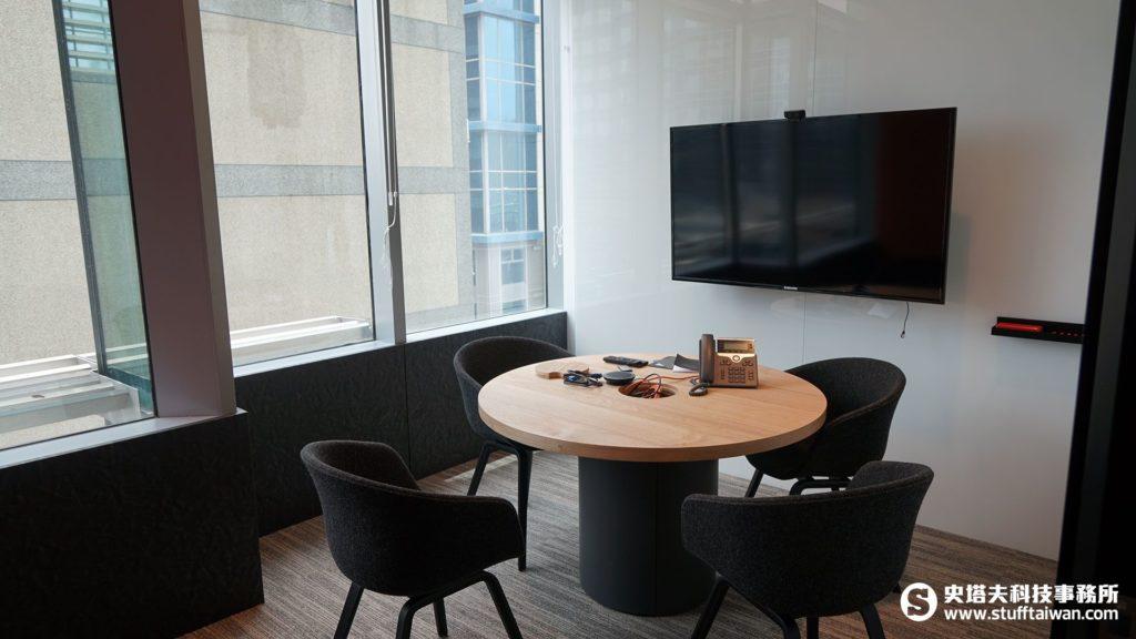 Netflix會議室內佈置