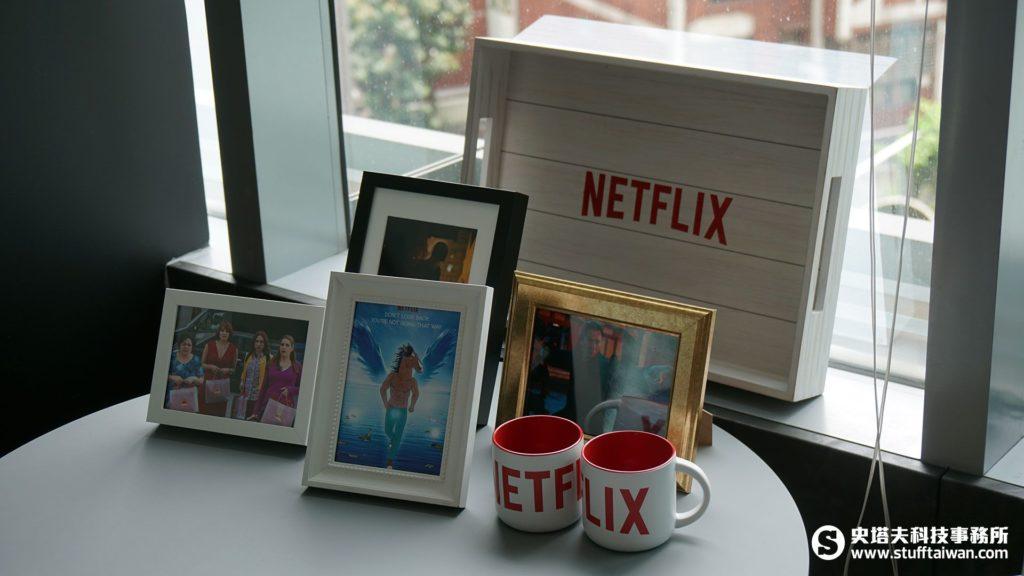 各種Netflix佈置物