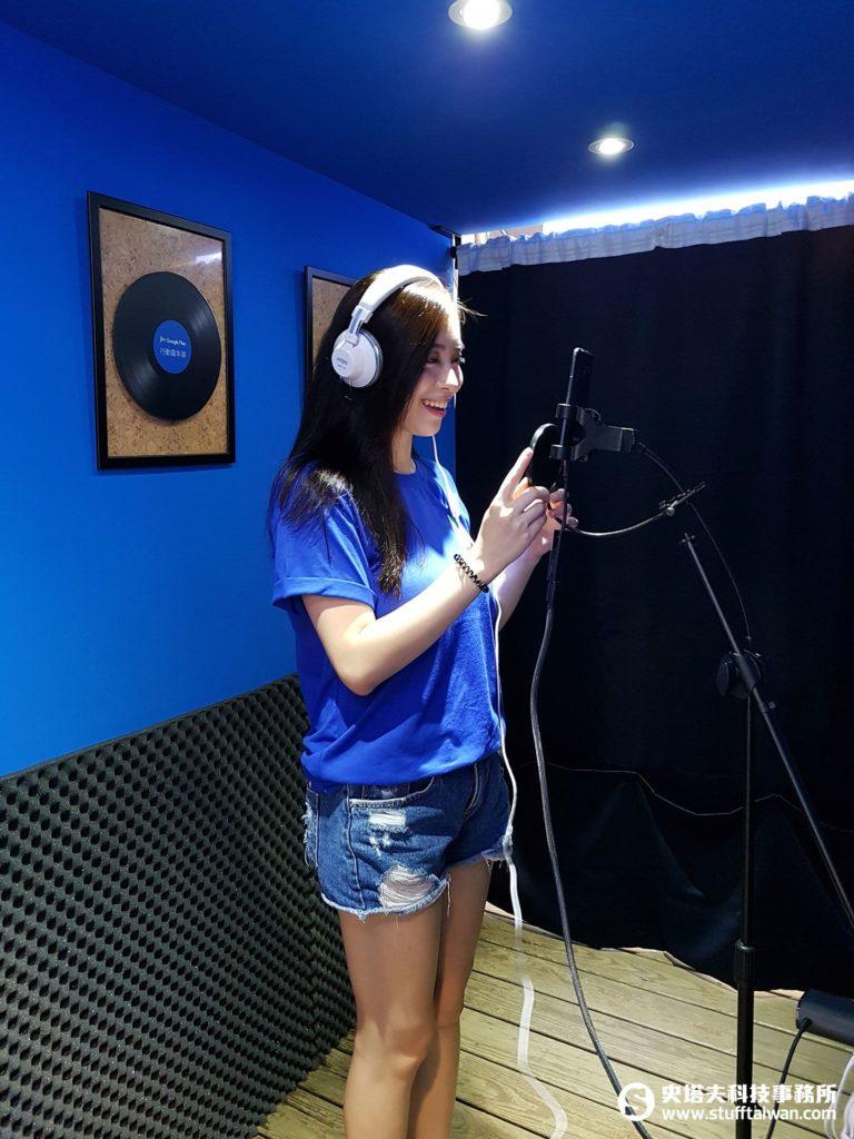 Google Play行動嘉年華中的個人錄音室