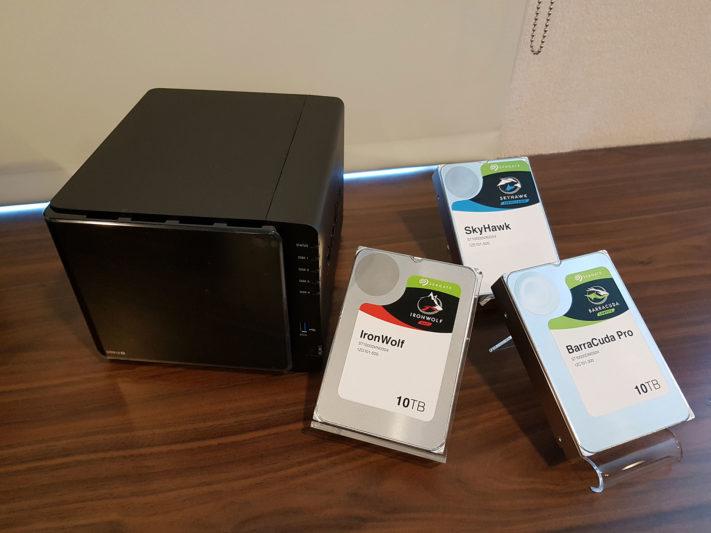 希捷科技BarraCuda、IronWolf、SkyHawk 10TB硬碟