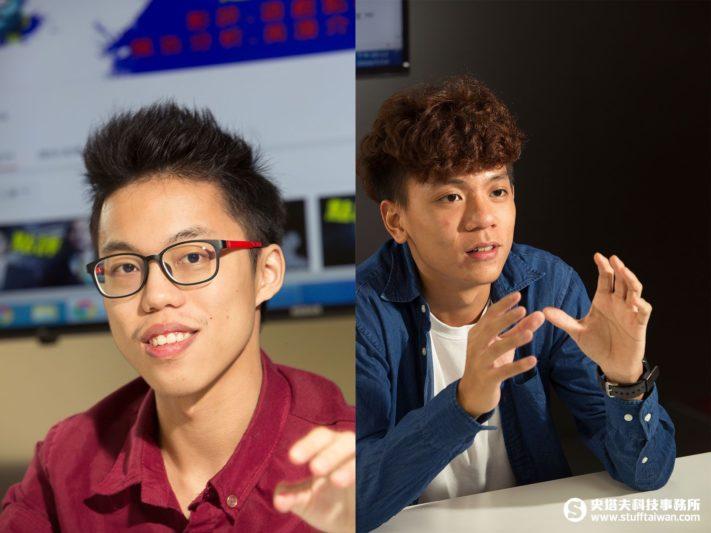 超粒方(左)和電影法蘭克(右)照片