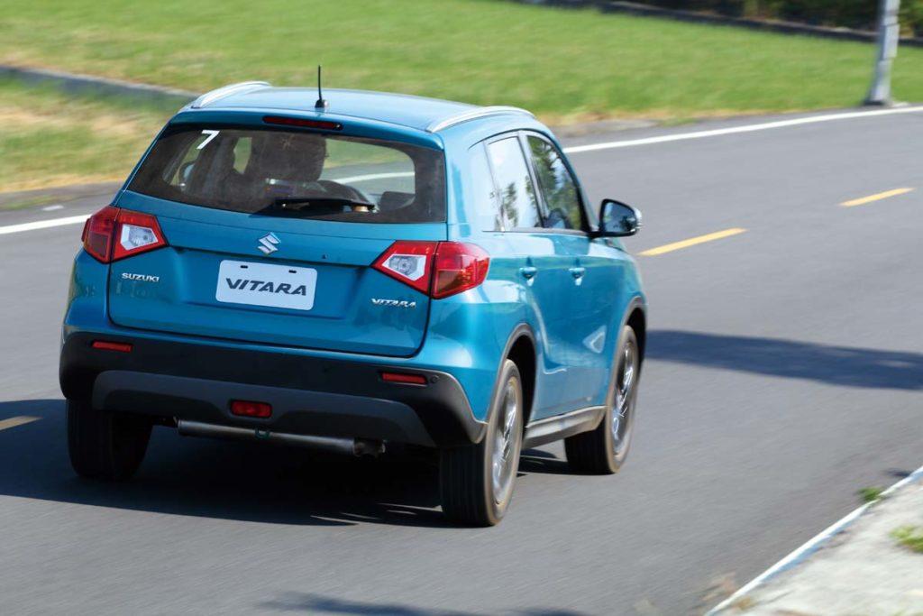 底盤穩定、路感清晰,駕馭Vitara的時候有種近乎歐系車的感受。