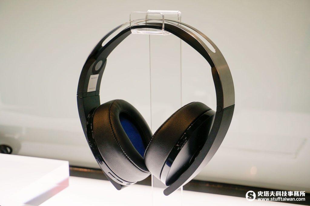 新款PlayStation無線立體聲耳機