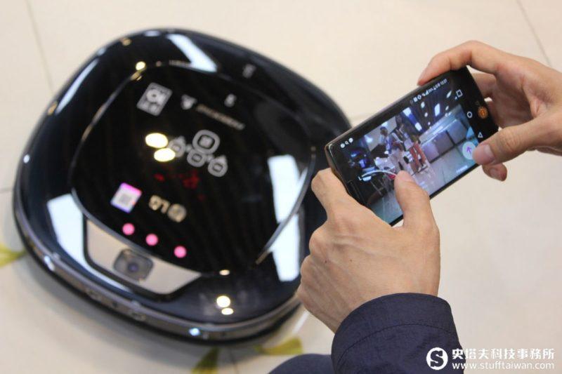 LG CORDZERO系列吸塵器:吸塵、拖地又能看家!