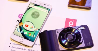 Hasselblad True Zoom模組及Moto Z Play手機