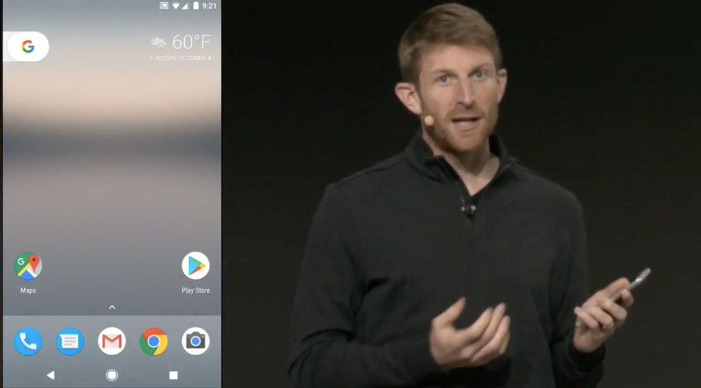 Google Pixel手機桌面