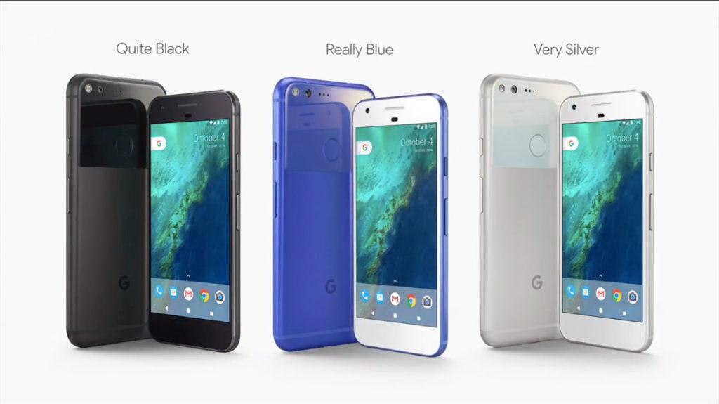 Pixel三種顏色