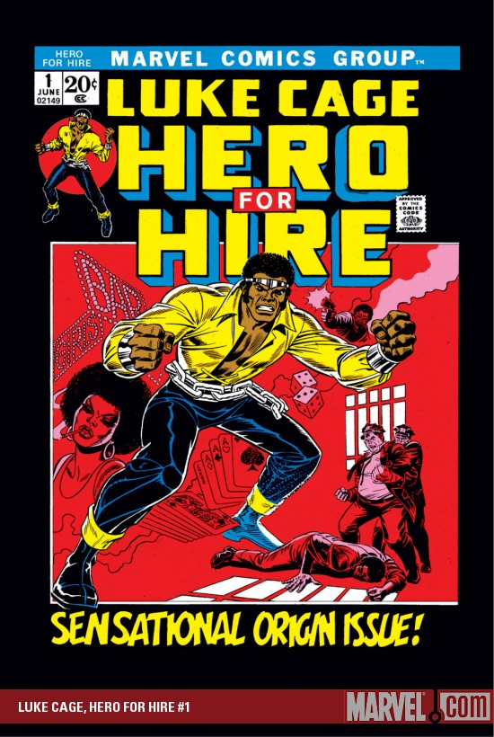 《Hero for Hire #1》漫畫封面