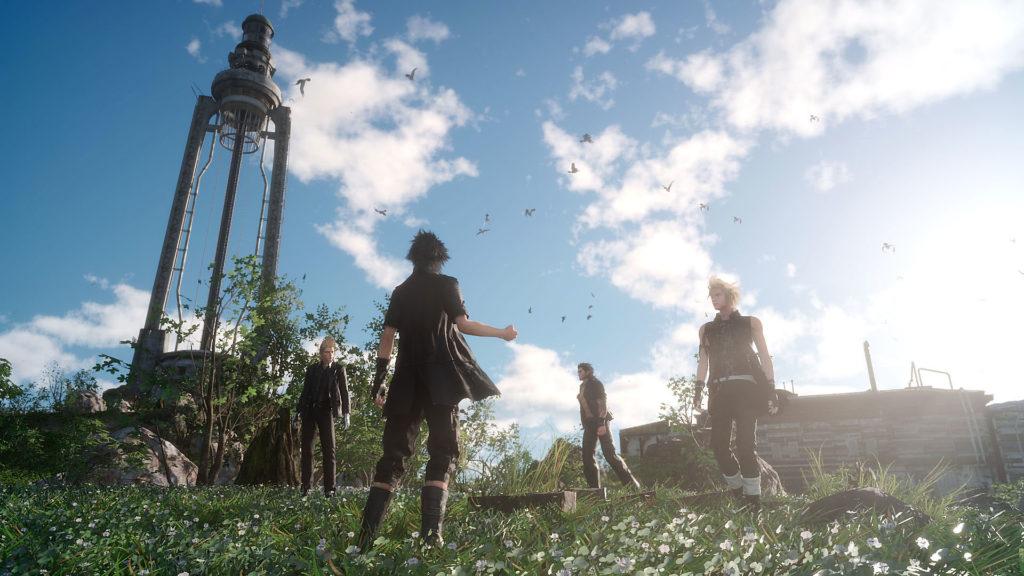Final Fantasy XV遊戲畫面