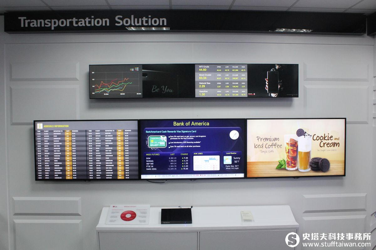 LG OLED商用顯示器 公共空間超吸睛的視覺饗宴