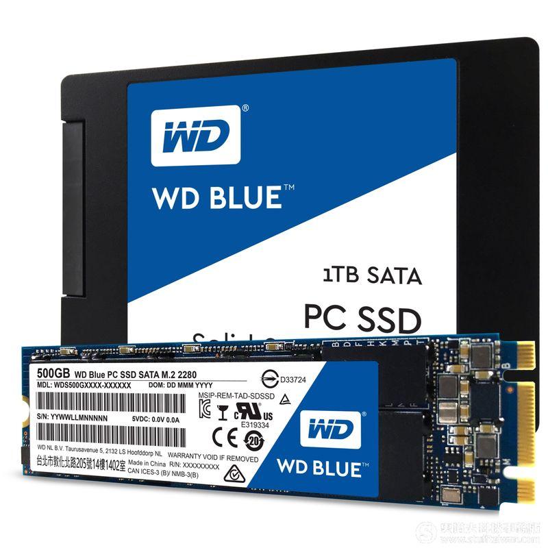 WD Blue SSD、Green SSD固態硬碟新上市 建議售價NT$2,499起