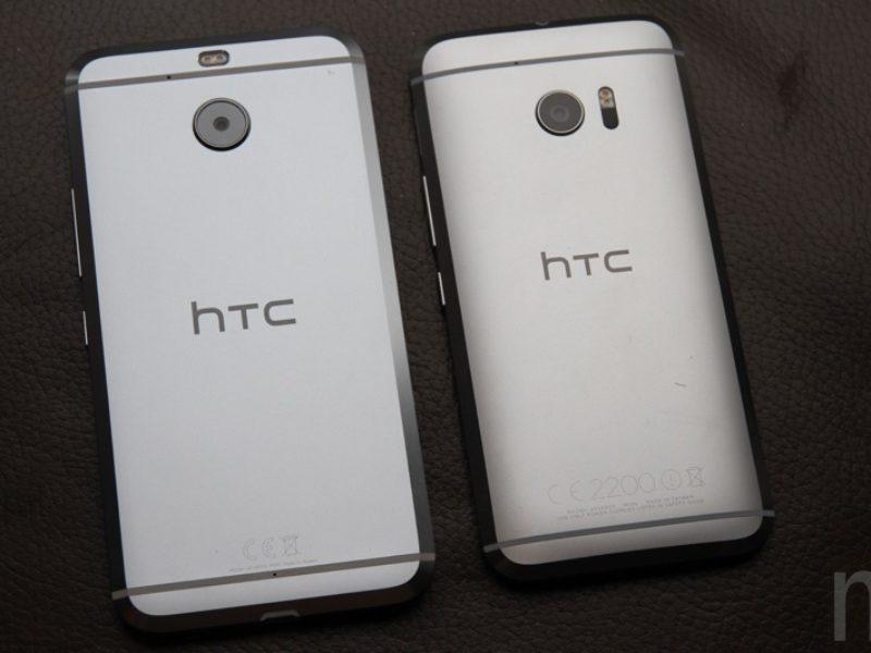 HTC 10 evo與HTC 10外觀比一比