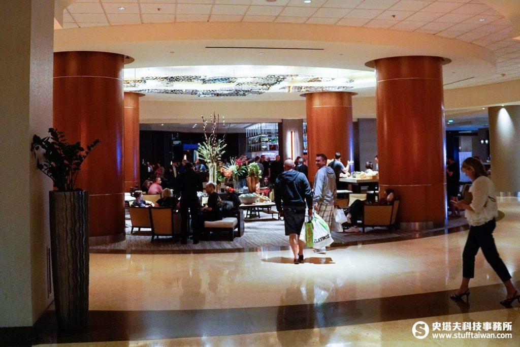 Marriott飯店大廳