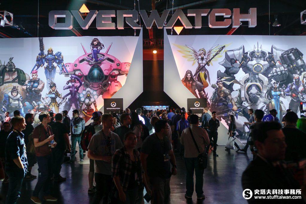 BlizzCon 2016《鬥陣特攻》電競比賽場地