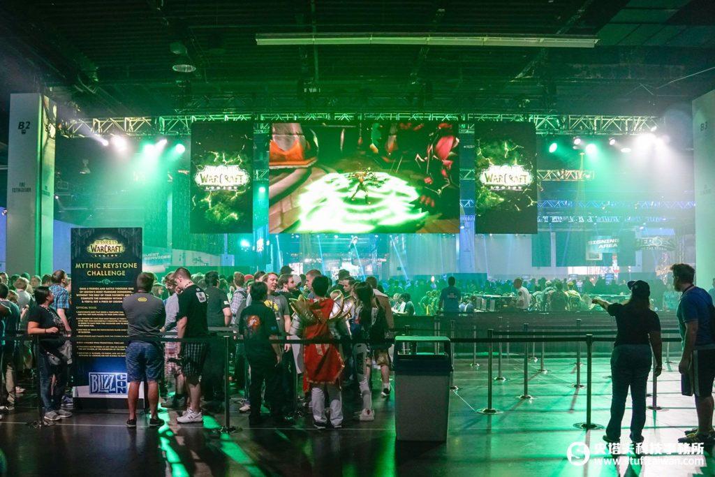 BlizzCon 2016現場試玩區