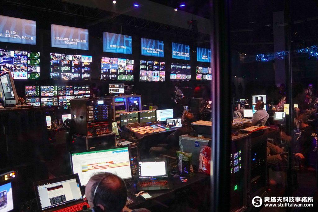 BlizzCon 2016總控室