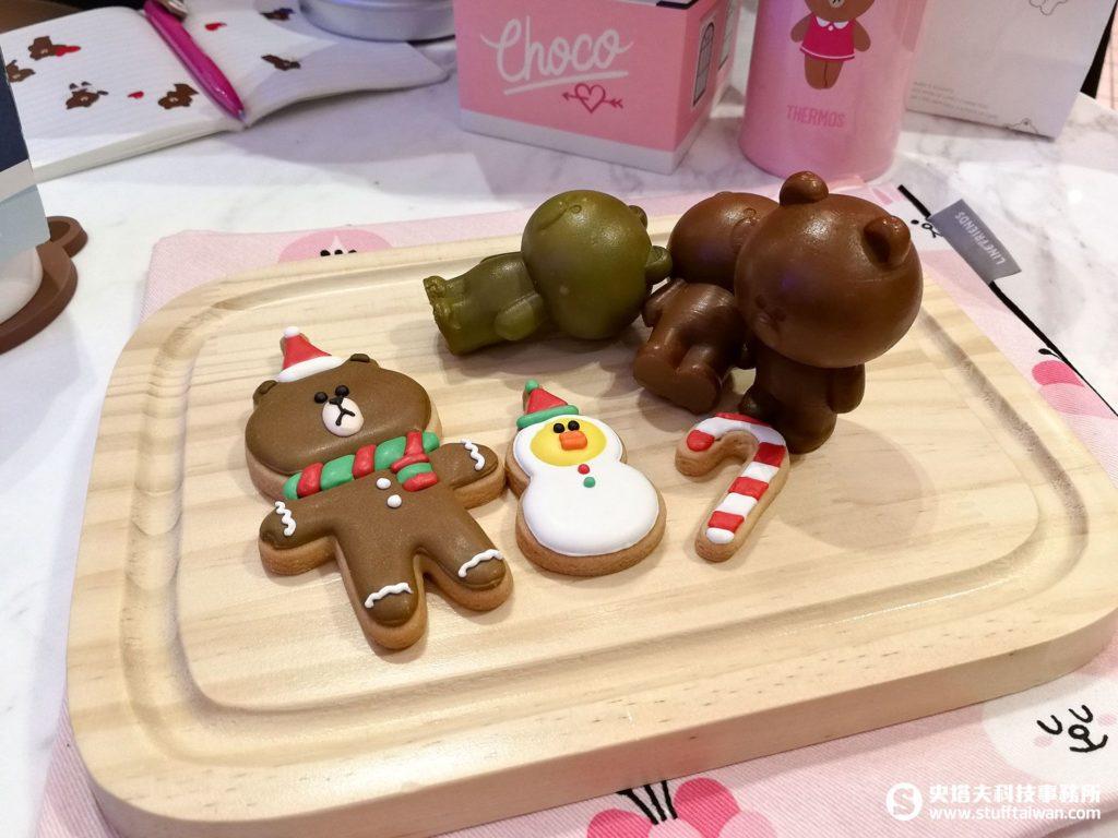 熊大雞蛋糕和造型餅乾