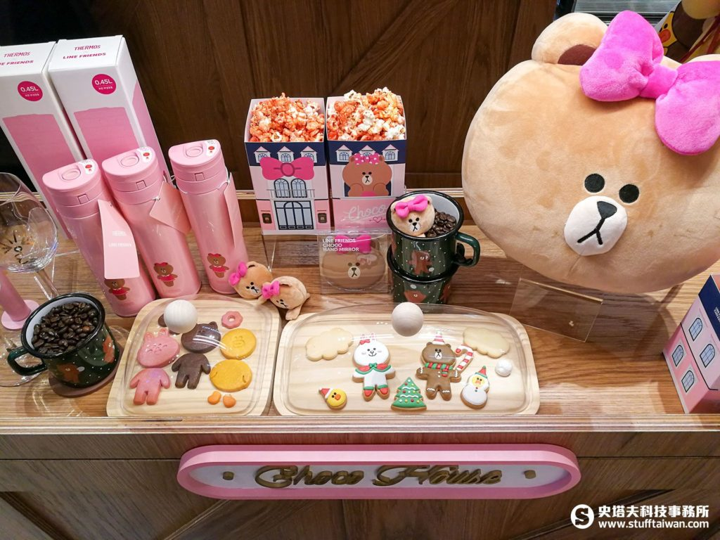 LINE FRIENDS Cafe的甜點