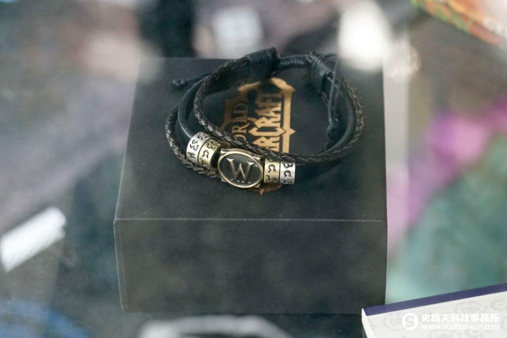 《魔獸世界》金屬、皮革材質手環