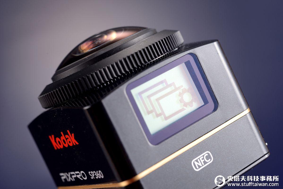 Kodak Pixpro SP360 4K試玩:玩轉360°的全景世界