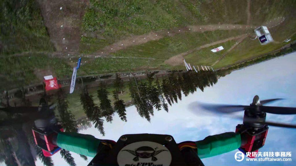 Gear 360穿越機空拍照