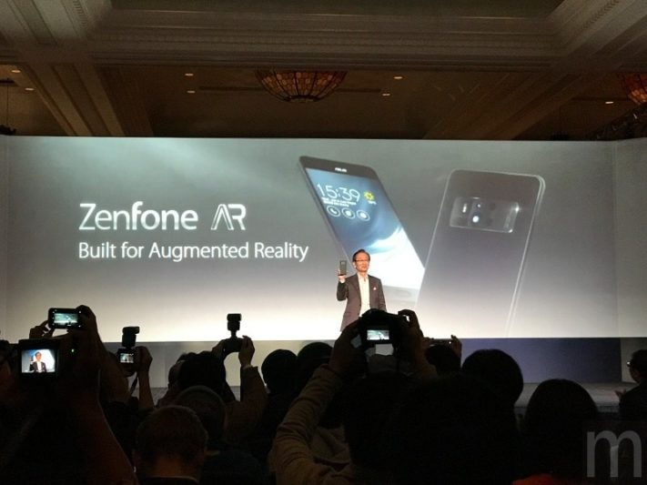 CES 2017:ASUS ZenFone AR揭曉!對應Google Tango擴增實境、Daydream VR技術