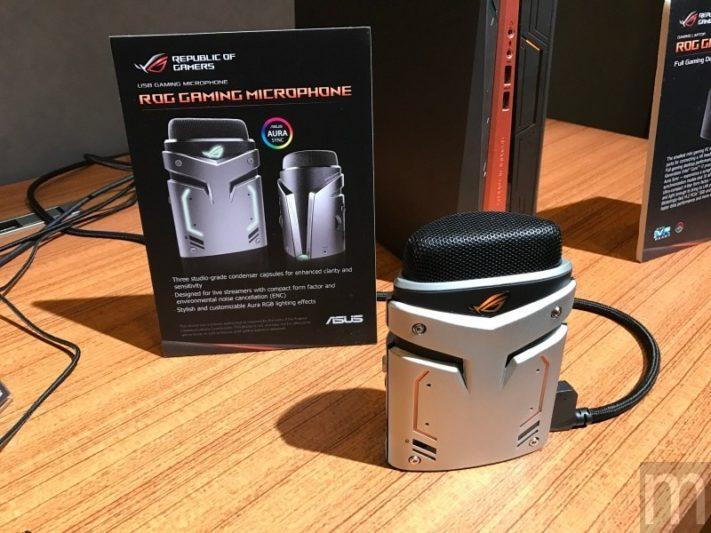 CES 2017:華碩針對電競直播市場打造一款降噪麥克風配件