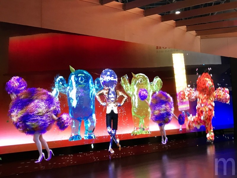 CES 2017:Sony巨型CLEDIS螢幕 讓你跟著虛擬人物一起共舞!