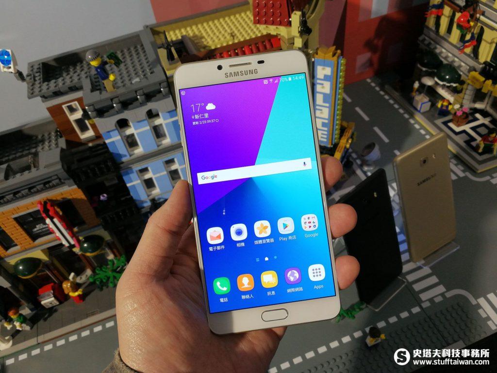 Galaxy C9 Pro正面