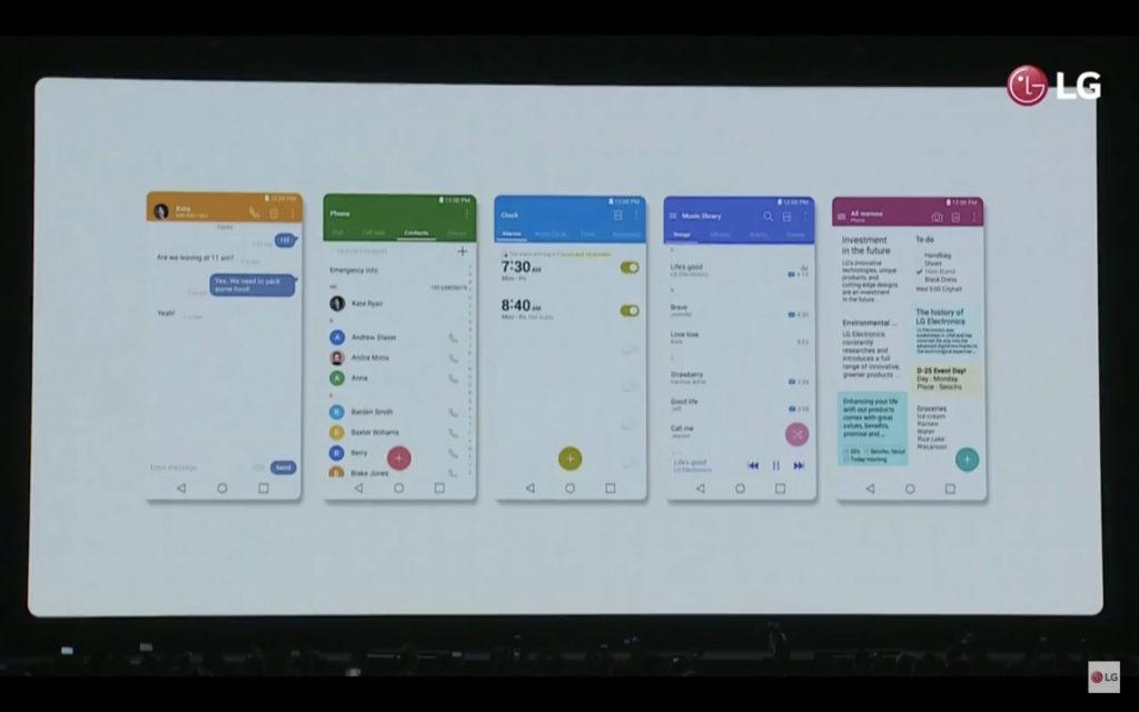 LG G6介面圖