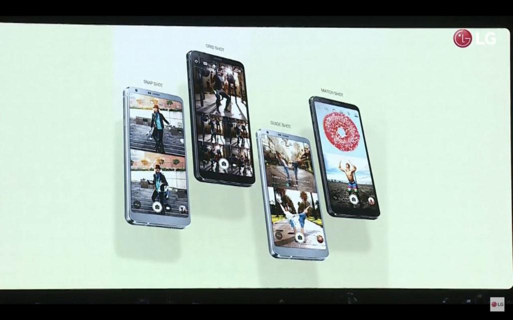LG G6四種拍攝方式