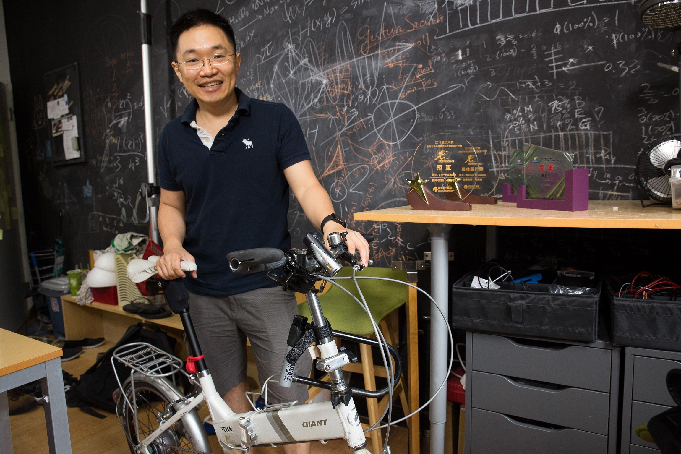 整個城市都是他的實驗室 陳彥仰從人機介面玩出一片天