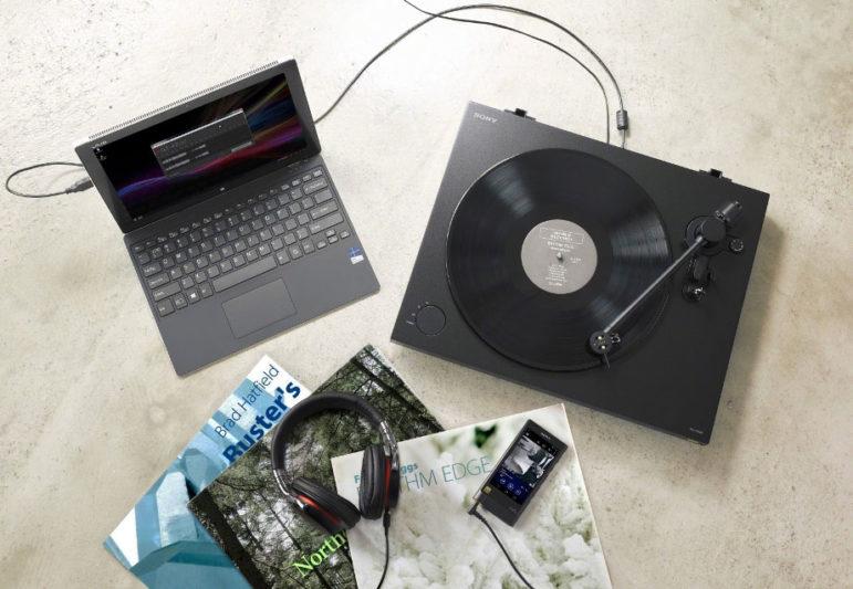 Sony PS-HX500黑膠唱盤情境照
