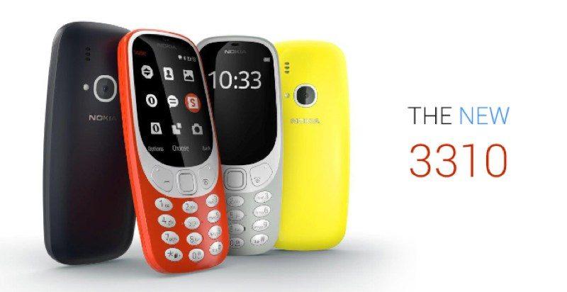 Nokia 3310「回歸」!外型更圓潤、維持低價與耐用特性