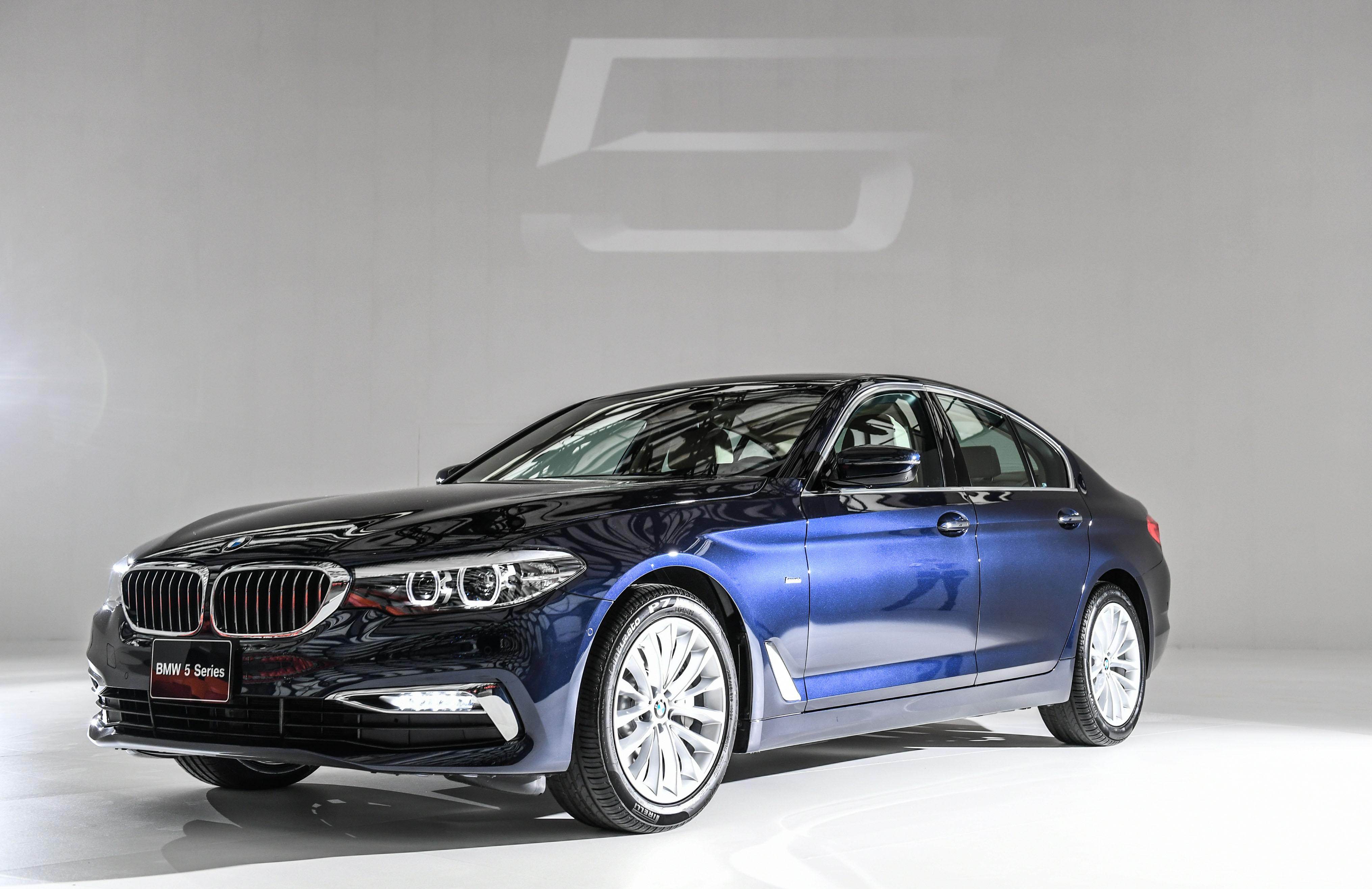 成就自我第一步!第七代BMW全新大5系列霸氣登場