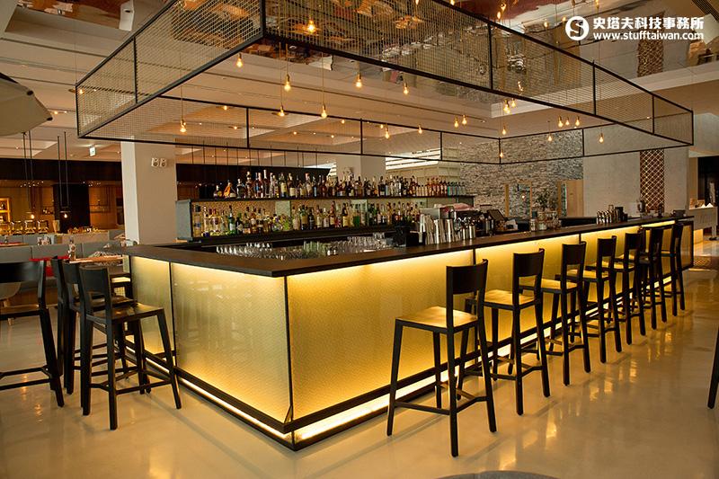 台南老爺行旅的「Bar 21(吧廿一)