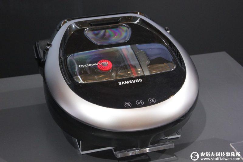 任何角落都清潔溜溜!Samsung POWERbot VR7000掃地機器人