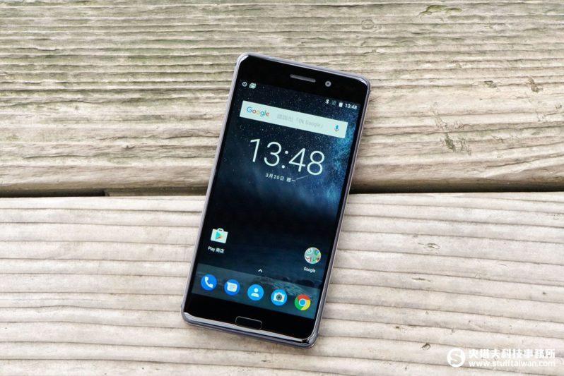 Nokia 6正面