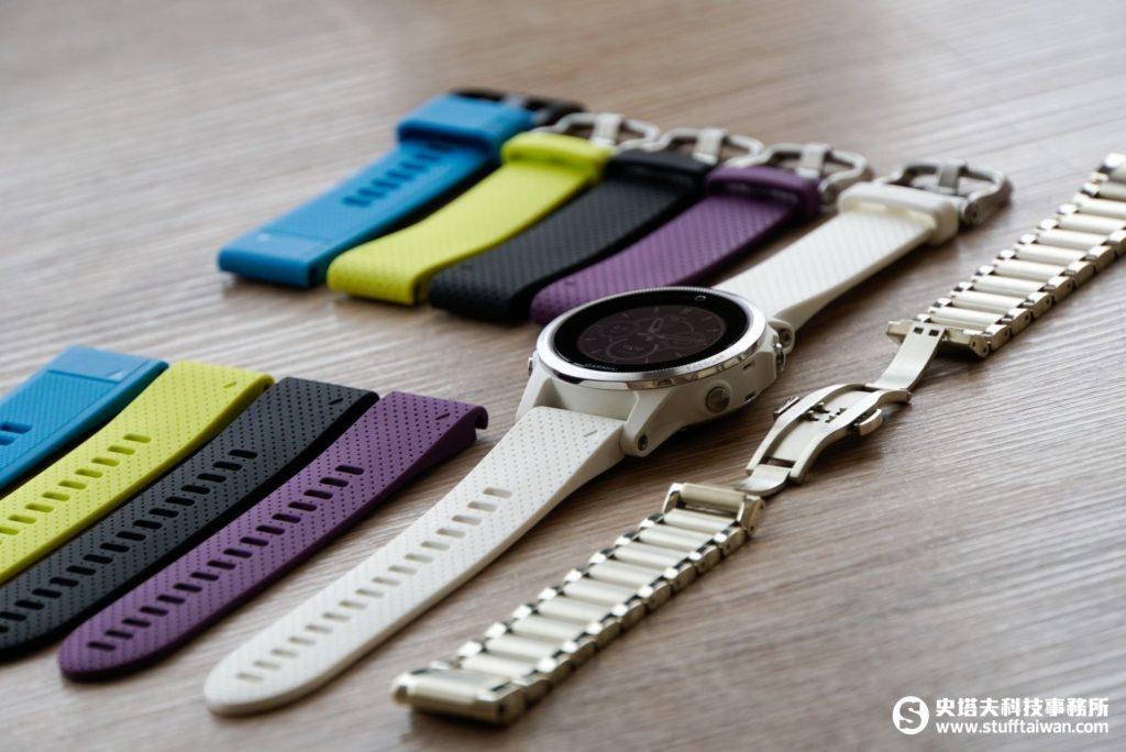 Garmin fēnix 5S及各式錶帶