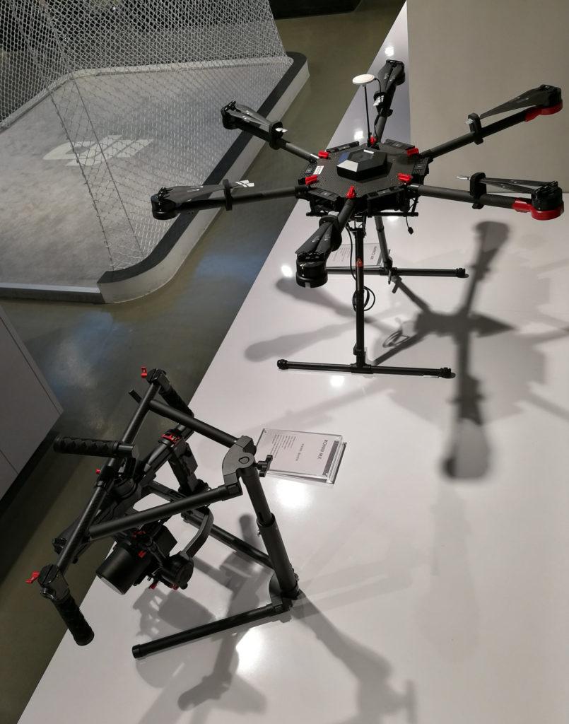 Matrice系列飛行平台及Ronin手持三軸穩定器