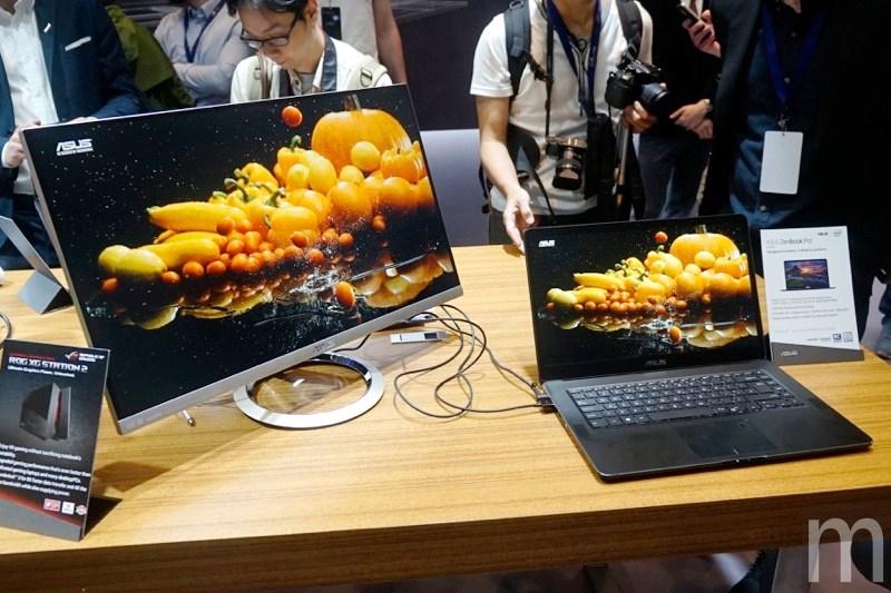 【Computex 2017】華碩新筆電強調極窄邊框、輕薄機身與高效能