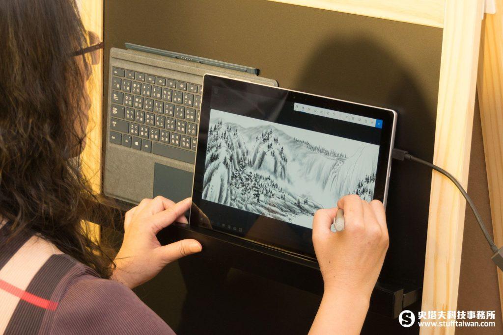 全新Surface Pen手寫筆手繪情境