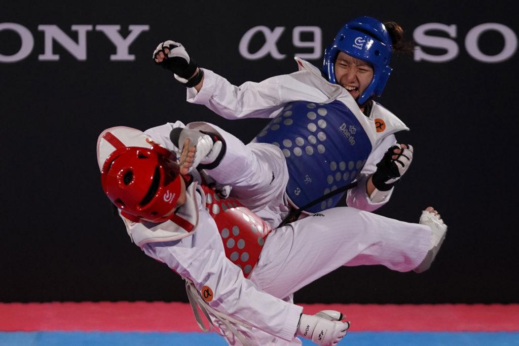 Sony α9拍攝跆拳道對打