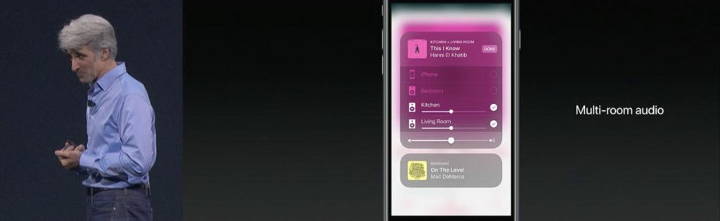蘋果WWDC17線上發表會截圖