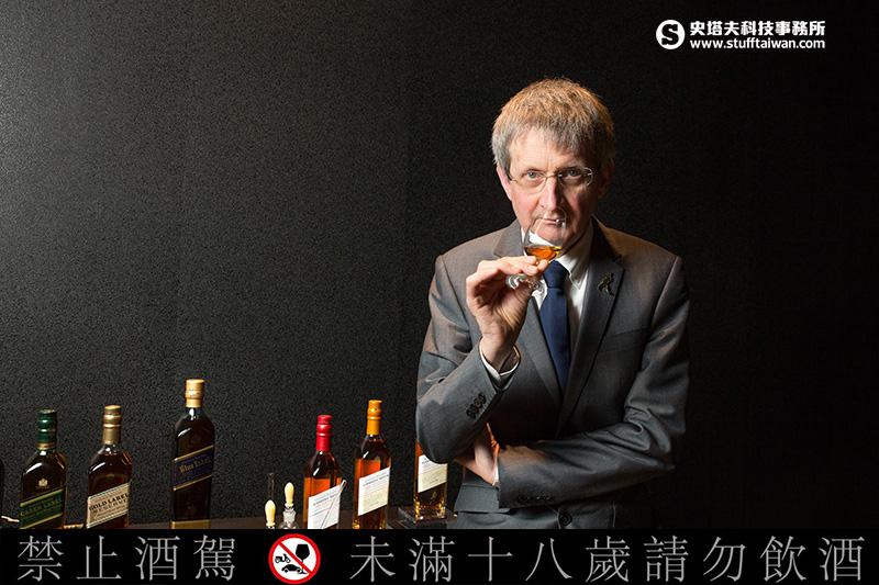 [威士忌A咖]Part 4:Johnnie Walker 首席私藏精選No 3 首席調酒師Jim Beveridge ...