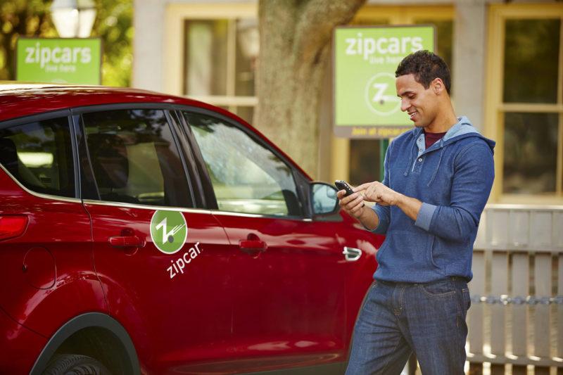 Zipcar情境照